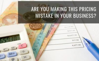 Are you making this pricing mistake in your business?